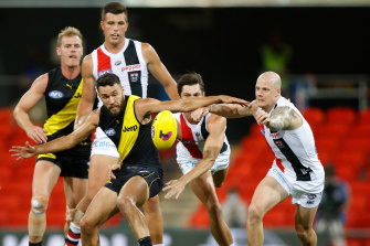 The Tigers will face Port Adelaide after defeating St Kilda on Friday.