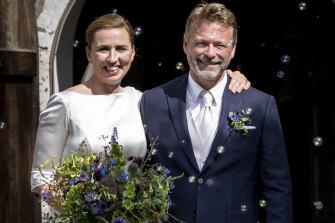 Denmark's Prime Minister Mette Frederiksen married Bo Tengberg.