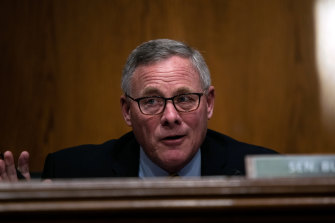 Senator Richard Burr, a Republican from North Carolina voted to impeach Trump.
