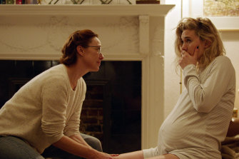 Molly Parker, left, and Vanessa Kirby in Pieces of a Woman.