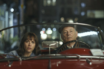 Bill Murray (pictured with Rashida Jones) plays Felix, one of the most charming and feckless men on the planet.