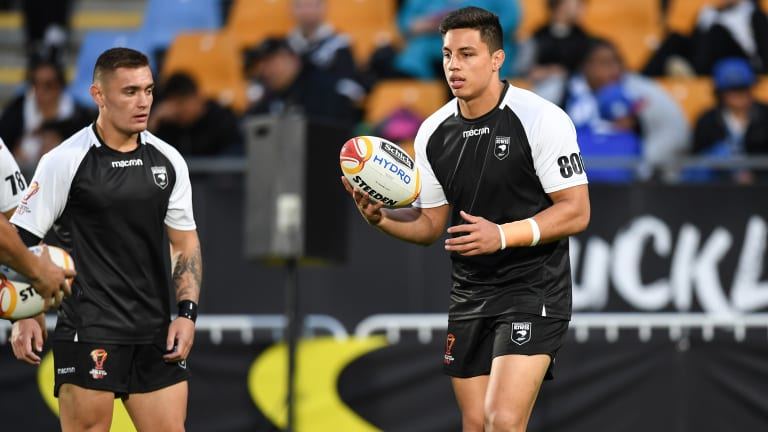 Raiders second-rower Joe Tapine is hopeful of being fit for the Kiwis' end-of-season Tests.