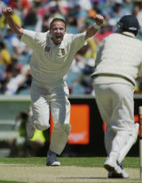 Allan Donald on the charge.