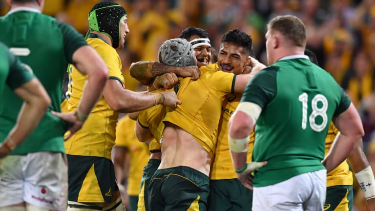 New dawn?  There were plenty of encouraging signs in Australia's victory over Ireland on Saturday.