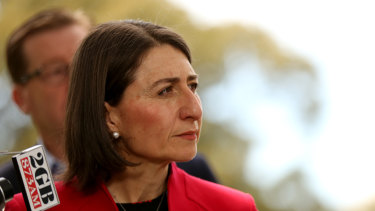 Premier Gladys Berejiklian risks giving mixed messages.
