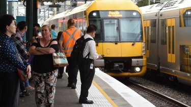 A signal failure at Redfern station caused delays across the train network.