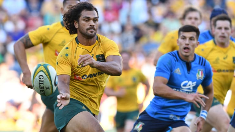 Breakthrough: Queensland and Karmichael Hunt are understood to have agreed to a release for the veteran back.