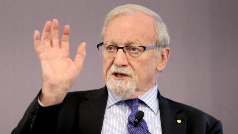 ANU chancellor and former Labor foreign minister, Gareth Evans.