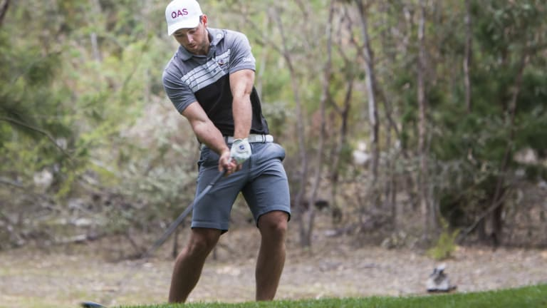 Queensland golfer Charlie Dann's hoping to finish his last amateur tournament before turning professional with a win.