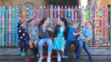 Our Lady of the Assumption Parish Primary School has rolled out a buddy bench to stamp out loneliness in the playground.