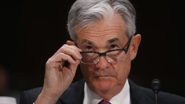 Federal Reserve Board chairman Jerome Powell says US business debt has clearly reached a level that should give investors and businesses reasons to pause and reflect.