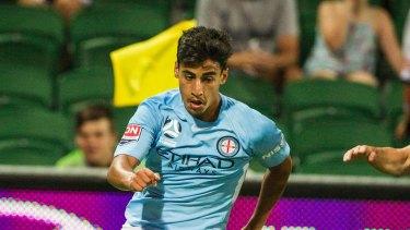 Socceroos sensation? Daniel Arzani.