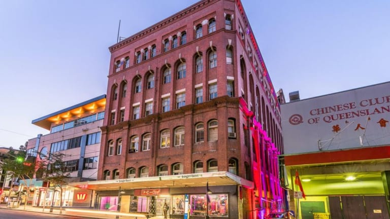 Brisbane's heritage-listed Waltons building in Fortitude Valley which has been listed for sale.