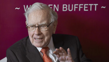 Warren Buffett's Berkshire Hathaway is betting on big pharma in the pandemic.