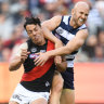 Double trouble for Cats with Dangerfield and Ablett under a cloud