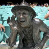 "A monument to heckling:  ""Yabba""  at the SCG."