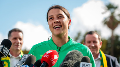 Soccer superstar Sam Kerr primed for home FIFA World Cup glory