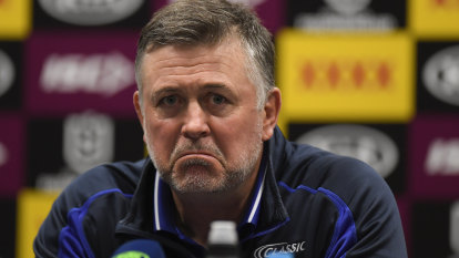 He's coached his last game at the club: Bulldogs and Pay part ways immediately