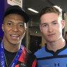 Sydney FC teen snares Mbappe's match shirt after dream debut