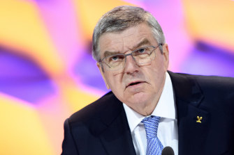 Thomas Bach, president of the International Olympic Committee, is not willing to indulge talk of cancellation.