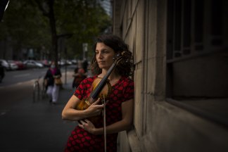 Violinist Xani Kolac says many women in the performing arts are struggling to get back on their feet after COVID shutdowns.