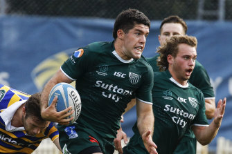 Randwick No.10 Ben Donaldson during last year's Shute Shield.
