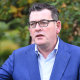 Daniel Andrews had a clear message for Victorians: stay home.