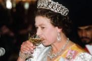 Let them drink martinis: Not anymore for Queen Elizabeth.