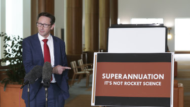 Labor superannuation spokesman Stephen Jones is encouraging Coalition MPs to raise the government's super reforms in the party room.
