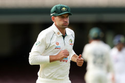 Burns in the field for Australia A over the weekend.