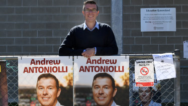 Ipswich mayor Andrew Antoniolli has announced he would stand down, a day after he was charged with fraud.