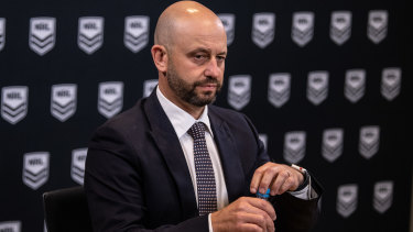 Todd Greenberg came under fire for taking less of a pay cut than NRL players.