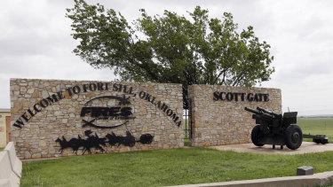 Fort Sill near Lawton, Oklahoma.