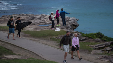 """Walking, jogging and hiking"" was the outdoor activity of choice for 85 per cent of Sydneysiders."