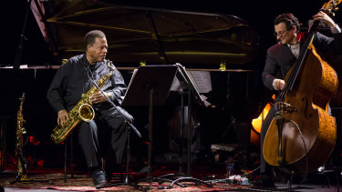 The Wayne Shorter Quartet at the Sydney Opera House.