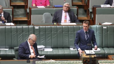 Industrial Relations Minister Christian Porter has been the face of the government's overhaul.