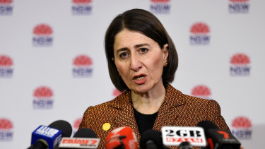 NSW Premier Gladys Berejiklian said life would feel much more normal by the end of June.