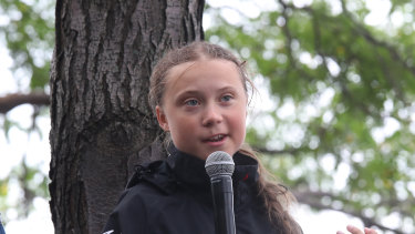 Australian school students have been inspired by Swedish climate activist Greta Thunberg.