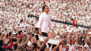 Joko Widodo rode a wave of hope to a second presidential term.