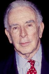 Carlisle Floyd in New York in 1999.