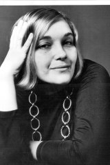 Lillian Roxon, pictured in 1973, was a music journalist who helped change how rock music was treated in the mainstream media.