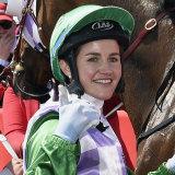 """Get stuffed"": 2015 Melbourne Cup winner Michelle Payne."