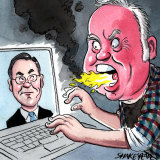 Adam Lang and Michael Smith. Illustration: John Shakespeare