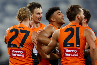 GWS are keen to play Richmond at either Marvel or GMBHA Stadium in round 22.