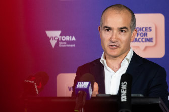 Education Minister James Merlino said tutoring had been the biggest help to students who had fallen behind.