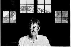 Children's playwright  David Holman at the Sydney Theatre Company, 1985.