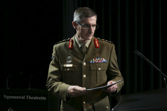 Chief of the Defence Force, Angus Campbell.