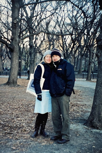 Tegan and her husband, Tony, had been in New York for just  a few weeks when 9/11 happened.