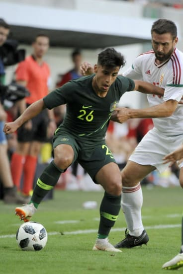 New blood: Daniel Arzani.