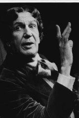 Vincent Price as Oscar Wilde, June 22, 1980.